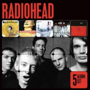 RADIOHEAD - 5 ALBUM SET 5CD