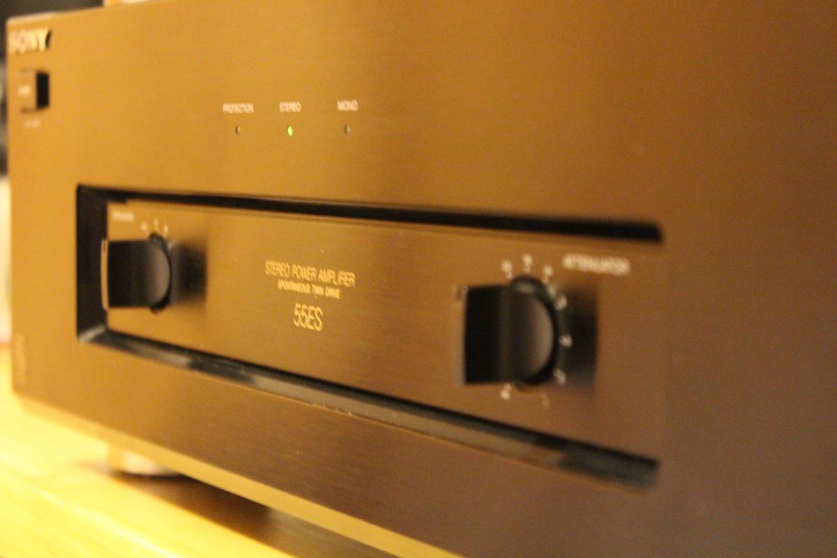 Sony TA-N55ES 2 Channel Power Amplifier