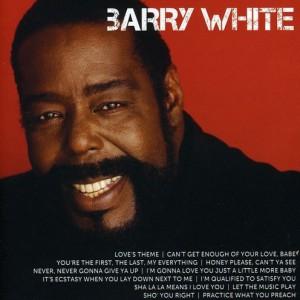 BARRY WHITE - ICON