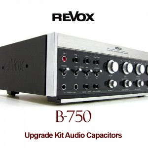 Revox B-750 Upgrade Kit Audio Capacitors