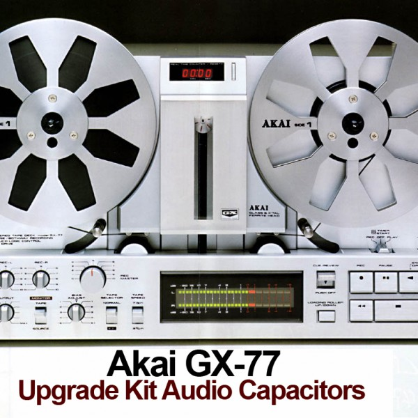 Akai GX-77 Upgrade Kit Audio Capacitors.