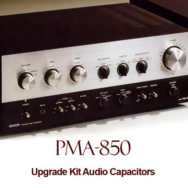 Denon PMA-850 Upgrade Kit Audio Capacitors