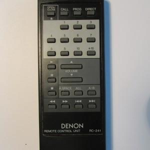 Denon Remote Control RC-241