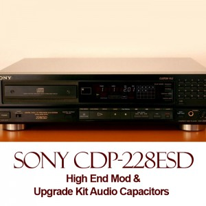High End Mod For Sony CDP-228ESD