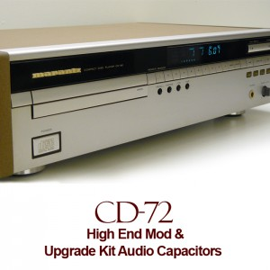 High End Mod For Marantz CD-72