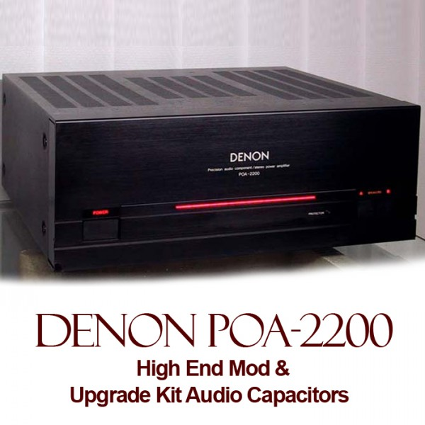 High End Mod For Denon POA-2200