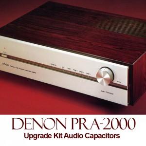 Denon PRA-2000 Upgrade Kit Audio Capacitors