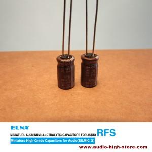 Elna 22uF 25V SILMIC II Audio-Grade Capacitor