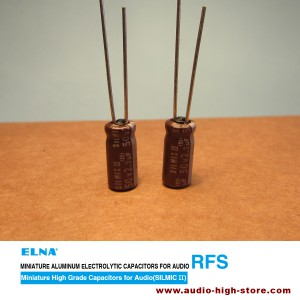 Elna 2.2uF 25V SILMIC II Audio-Grade Capacitor