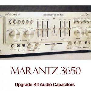 Marantz 3650 Upgrade Kit Audio Capacitors