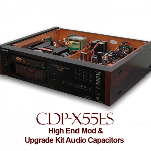 High End Mod For Sony CDP-X55ES