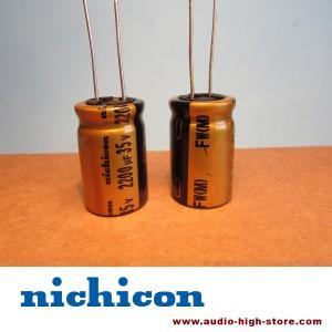 Nichicon FW 2200uF 35V Audio-Grade Capacitor