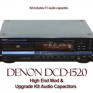 High End Mod For Denon DCD-1520