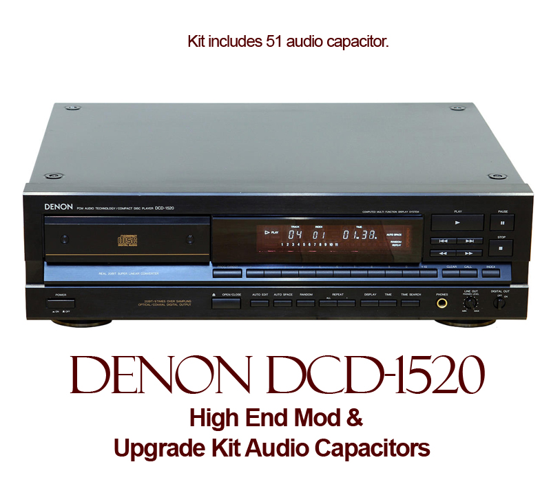 High End Mod For Denon Dcd 1520