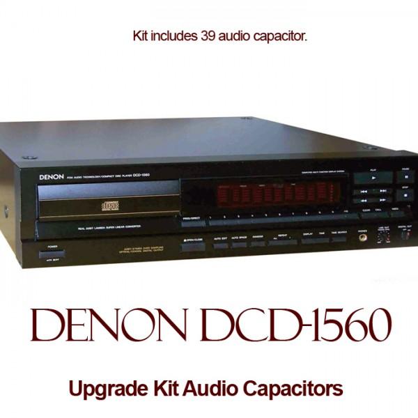 Denon DCD-1560 Upgrade Kit Audio Capacitors