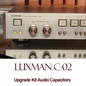 Luxman C-02 Upgrade Kit Audio Capacitors