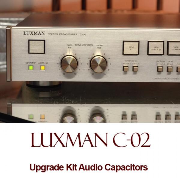Luxman C-02 Upgrade Kit Audio Capacitors