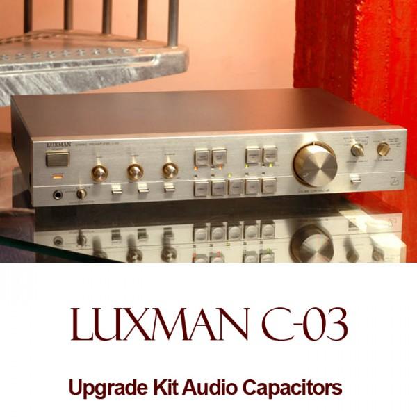 Luxman C-03 Upgrade Kit Audio Capacitors