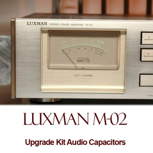 Luxman M-02 Upgrade Kit Audio Capacitors