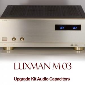 Luxman M-03 Upgrade Kit Audio Capacitors