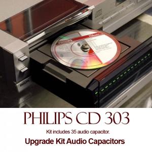 Philips CD 303 Upgrade Kit Audio Capacitors