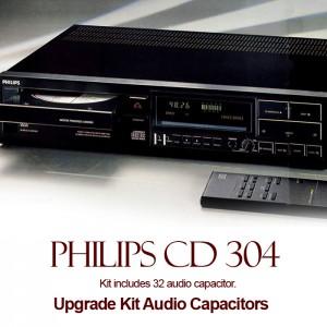Philips CD 304 Upgrade Kit Audio Capacitors