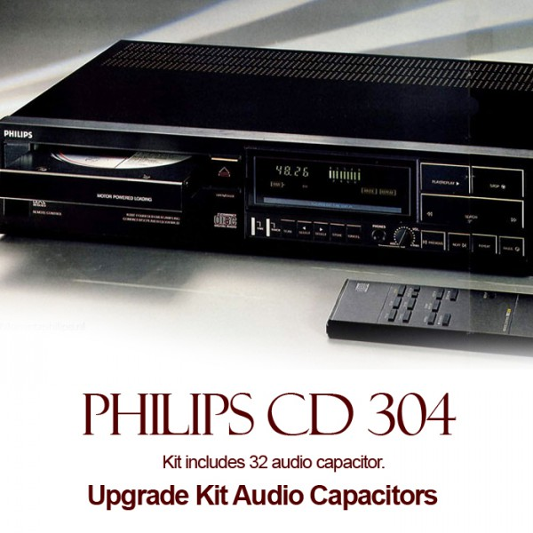 Philips CD 304 Upgrade Kit Audio Capacitors