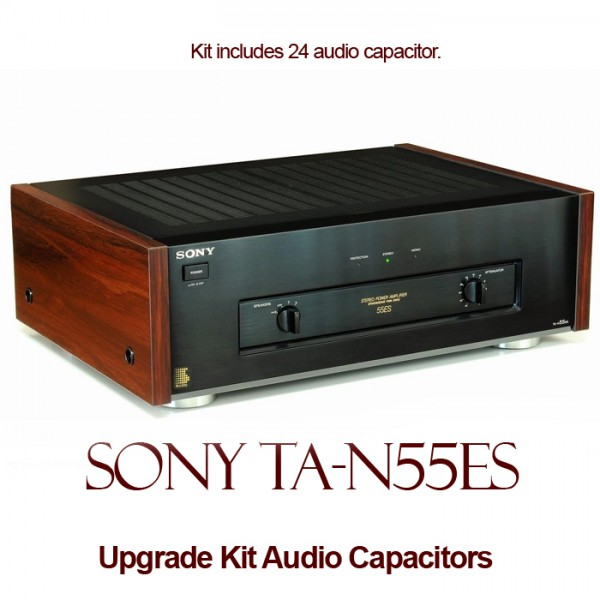 Sony TA-N55ES Upgrade Kit Audio Capacitors
