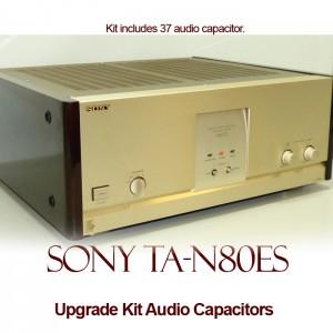 Sony TA-N80ES Upgrade Kit Audio Capacitors