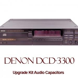 Denon DCD-3300 Upgrade Kit Audio Capacitors