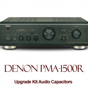 Denon PMA-1500R Upgrade Kit Audio Capacitors