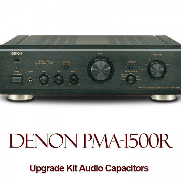 Denon PMA-1500R Upgrade Kit Audio Capacitors