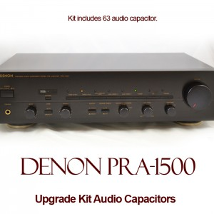 Denon PRA-1500 Upgrade Kit Audio Capacitors