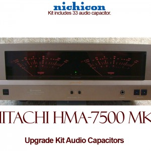 Hitachi HMA-7500 mkII Upgrade Kit Audio Capacitors