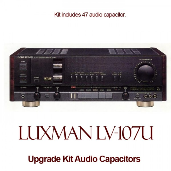 Luxman LV-107U Upgrade Kit Audio Capacitors