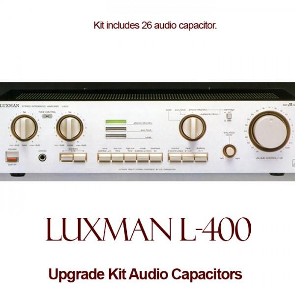 Luxman L-400 Upgrade Kit Audio Capacitors