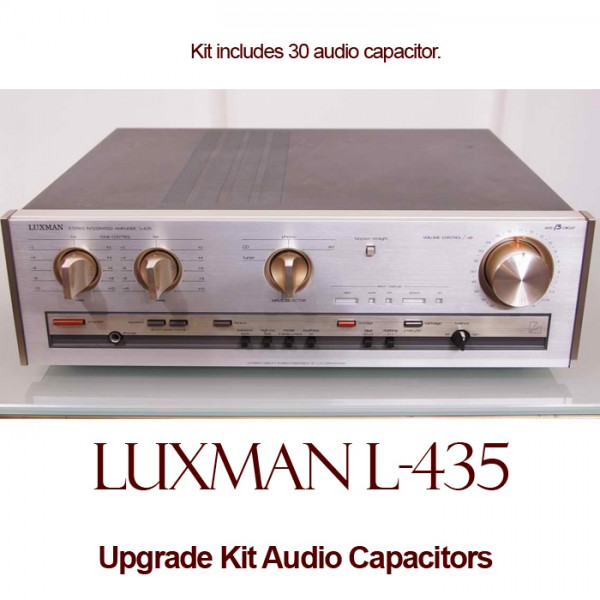 Luxman L-435 Upgrade Kit Audio Capacitors