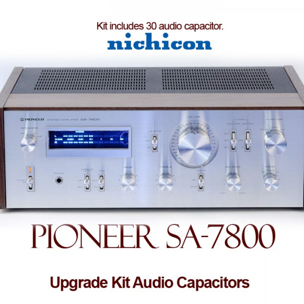 Pioneer SA-7800 Upgrade Kit Audio Capacitors