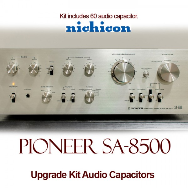 Pioneer SA-8500 Upgrade Kit Audio Capacitors