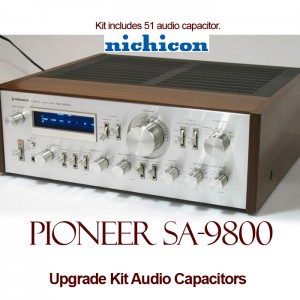Pioneer SA-9800 Upgrade Kit Audio Capacitors