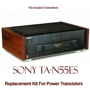Sony TA-N55ES Replacement Kit Transistors
