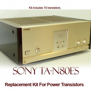 Sony TA-N80ES Replacement Kit Transistors
