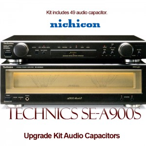 Technics SE-A900S / M2 Upgrade Kit Audio Capacitors