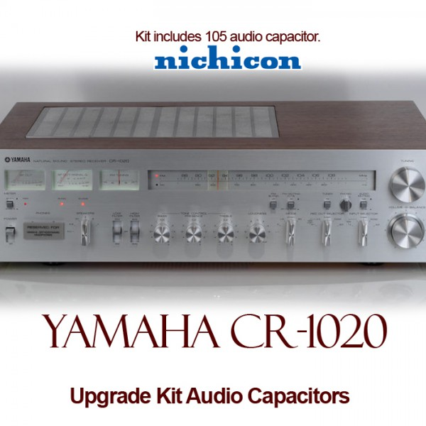 Yamaha CR-1020 Upgrade Kit Audio Capacitors