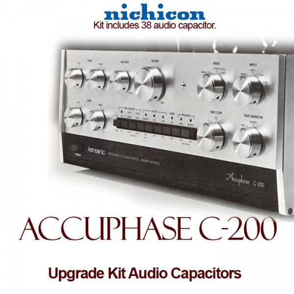 Accuphase C-200 Upgrade Kit Audio Capacitors