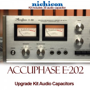 Accuphase E-202 Upgrade Kit Audio Capacitors