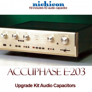 Accuphase E-203 Upgrade Kit Audio Capacitors