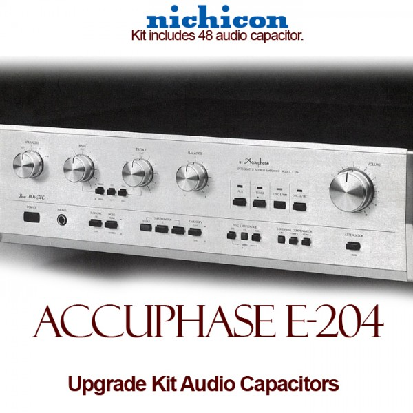 Accuphase E-204 Upgrade Kit Audio Capacitors