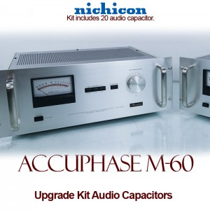 Accuphase M-60 Upgrade Kit Audio Capacitors