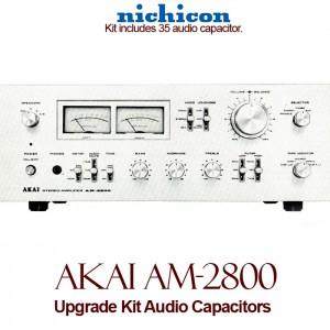 Akai AM-2800 Upgrade Kit Audio Capacitors